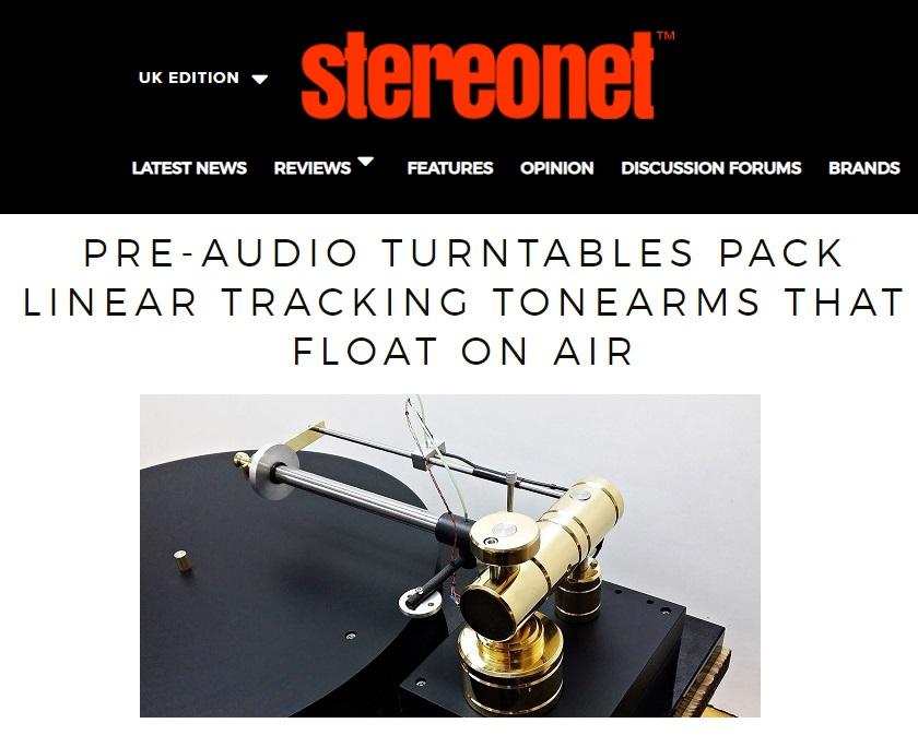 linear turntables pre audio Munich audio fairs